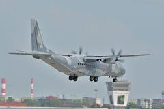 波兰空军队飞机 免版税库存照片