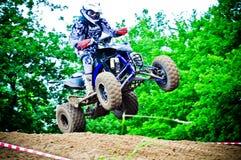 波兰西部区域摩托车越野赛锦标赛循环VI波兰 免版税库存图片