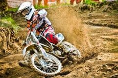 波兰西部区域摩托车越野赛锦标赛循环VI波兰 库存图片
