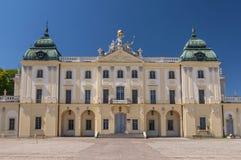 波兰要人克莱门斯Branicki,Branicki宫殿历史住所在比亚韦斯托克,波兰 免版税库存照片