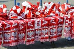 波兰语扇动辅助部件立场 免版税库存图片