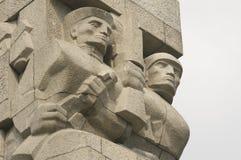 波兰边界的防御者的一座纪念碑 库存图片