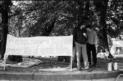 波兰避难者 免版税库存照片