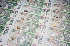 波兰金钱 免版税图库摄影