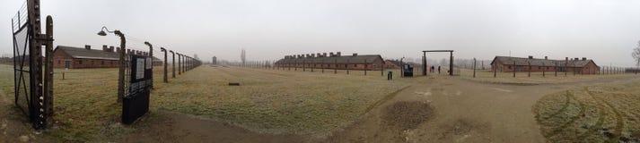 波兰集中营Aushwitz 免版税库存照片