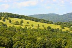 波兰风景。 免版税库存照片