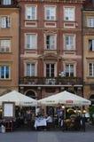 波兰首都华沙 免版税库存照片