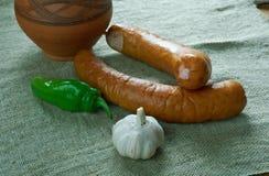 波兰香肠 库存照片