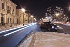 波兰,拉多姆, Resursa Obywatelska大厦 库存照片