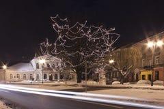 波兰,拉多姆, Resursa Obywatelska大厦 免版税库存图片