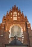 波兰, Krakà ³ w,卡齐米日,科珀斯克里斯蒂哥特式C的伦敦西区 免版税图库摄影