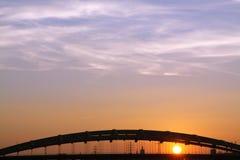 波兰, Krakà ³ w,曲拱多数Kotlarski (Kotlarski桥梁),集合 免版税库存图片