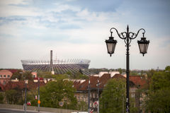 波兰, Mazovia地区,华沙,全国体育场华沙 免版税图库摄影