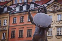 波兰: 华沙的符号 免版税库存图片
