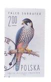 波兰-大约1975年:邮票在展示爱好F打印了 库存照片