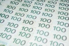 波兰货币兹罗提- PLN 免版税库存照片
