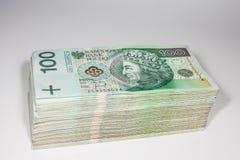 波兰货币兹罗提- PLN 库存照片