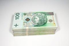 波兰货币 免版税图库摄影
