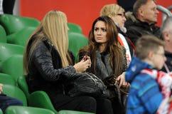 波兰-捷克友好的比赛 库存图片