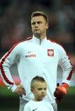 波兰-捷克友好的比赛 免版税库存图片