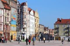波兰-比托姆市 免版税库存照片