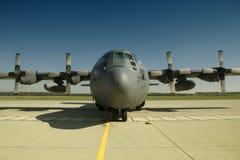 波兰C-130赫拉克勒斯 库存图片