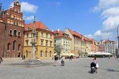 波兰wroclaw 免版税库存图片