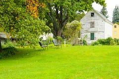 波兹毛斯, NH,美国- 2012年9月30日:Strawbery Banke是一个室外历史博物馆 库存图片
