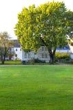 波兹毛斯, NH,美国- 2012年9月30日:Strawbery Banke是一个室外历史博物馆 免版税图库摄影