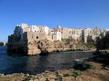 波利尼亚诺阿马雷,南的意大利 免版税库存图片