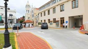 波利瓦阿西西教会巴拿马市宫殿和博洛尼亚圣方济各教堂  影视素材