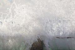 波力发电潮汐水池 免版税库存照片