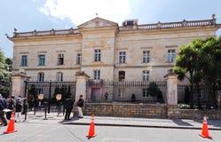 波哥大哥伦比亚narino宫殿 库存图片