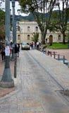 波哥大哥伦比亚Usaquen邻里  免版税库存照片