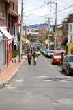 波哥大哥伦比亚Usaquen邻里  库存照片