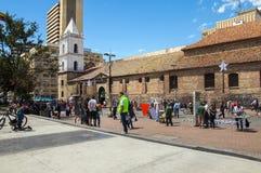 波哥大城市街道  库存照片