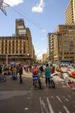 波哥大城市街道  免版税库存图片