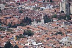 波哥大大教堂  免版税图库摄影