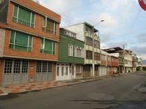 波哥大市 免版税库存照片