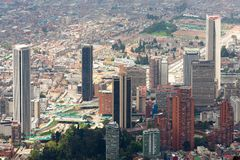 波哥大的国际中心 免版税图库摄影