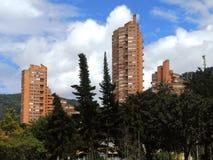 波哥大,哥伦比亚现代看法  库存照片