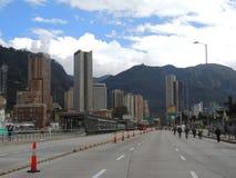 波哥大,哥伦比亚看法 库存照片