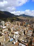 波哥大,哥伦比亚街市的看法  免版税库存照片