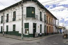 波哥大,哥伦比亚街道  图库摄影