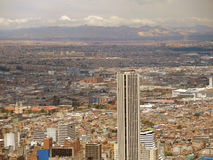 波哥大,哥伦比亚风景。 库存照片