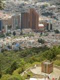 波哥大,哥伦比亚风景。 免版税库存图片