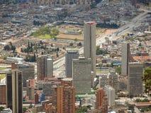 波哥大,哥伦比亚风景。 免版税库存照片