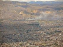 波哥大,哥伦比亚风景。 免版税图库摄影
