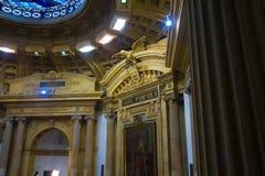 波哥大,哥伦比亚2017年10月22日:参议院国会大厦的室内看法在波哥大 库存图片