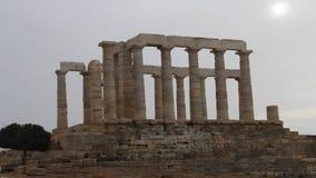 波塞冬寺庙, Sounion,雅典希腊 影视素材
